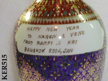 Handpainted Ceramic Pottery Thailand